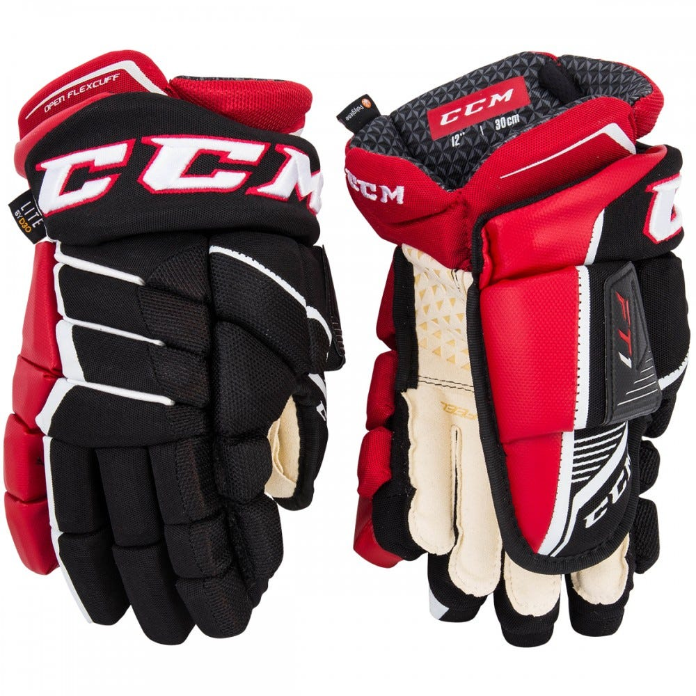 Перчатки CCM JETSPEED FT1 JR