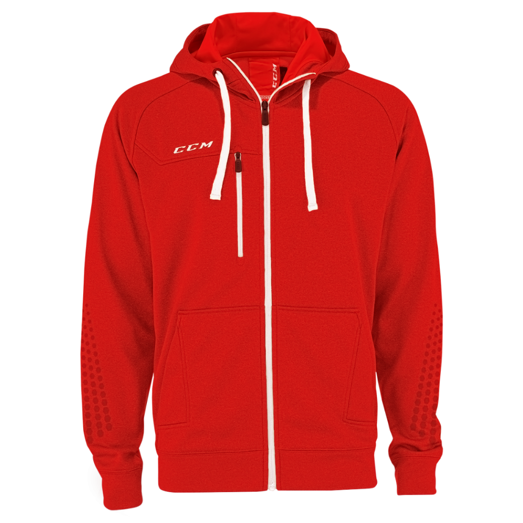 Толстовка CCM Full Zip Hood SR 2016