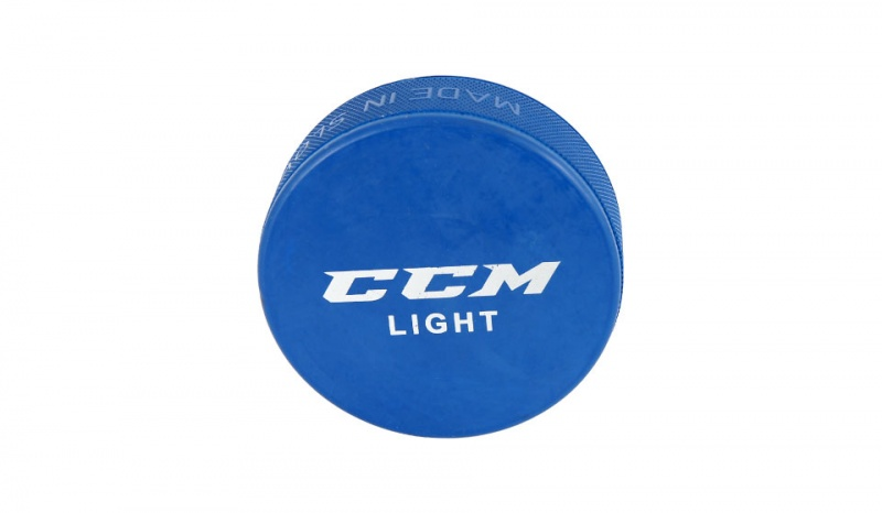 Шайба CCM LIGHT BLUE
