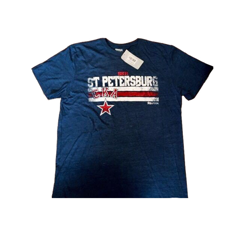 Футболка REEBOK Team Stripes Tee SKA SR